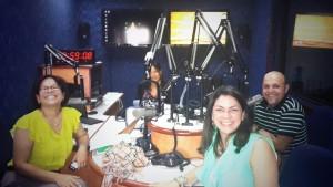 Con Nereyda Castillo en La Vida Simple.
