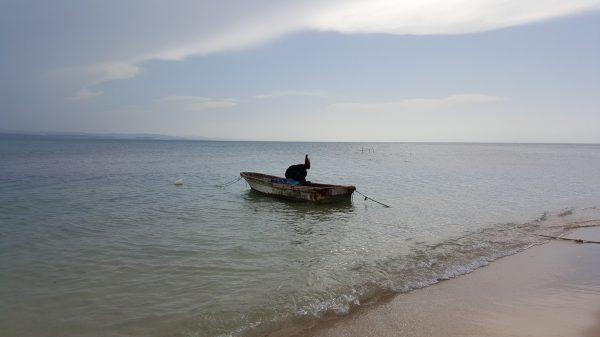 Soy amante de las escenas con botes de pescador de pueblo.