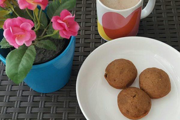 Cupcakes de batata esponjosos – sin gluten ni lactosa